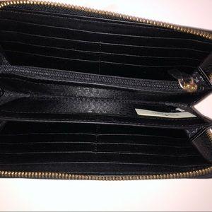 kate spade Bags - black kate spade penn place embossed wallet